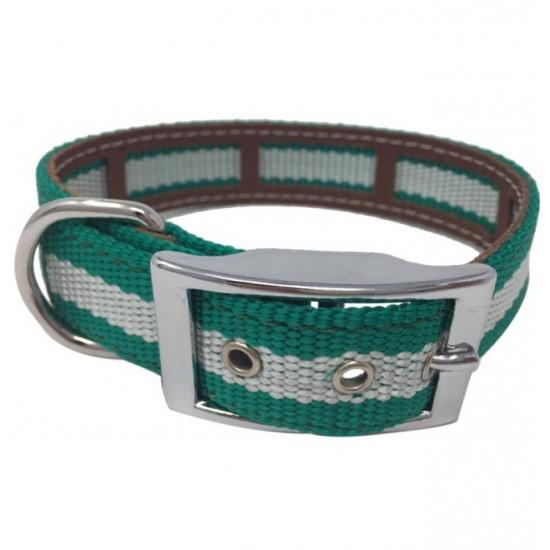 Collar para perro Biothane 2,5 Hebilla Alemana Rosa personalizado