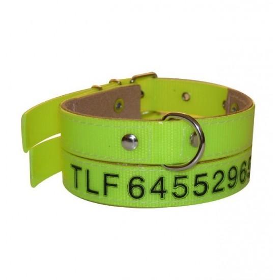 Collar para perro biothane gold 2,5 hebilla alemana