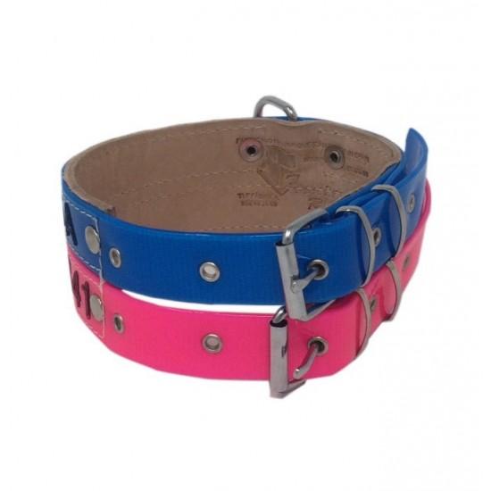 Collar para perro biothane 2,5 hebilla alemana