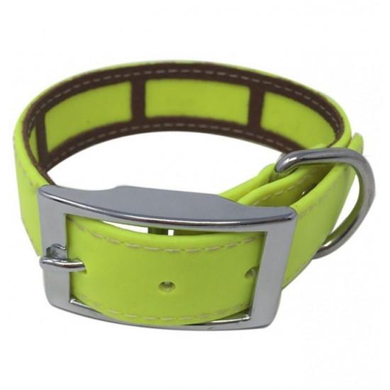 Collar para perro Biothane 2,5 Hebilla Alemana Azul
