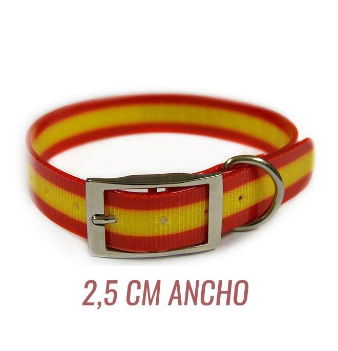 Collar para perro biothane España 2,5 cm