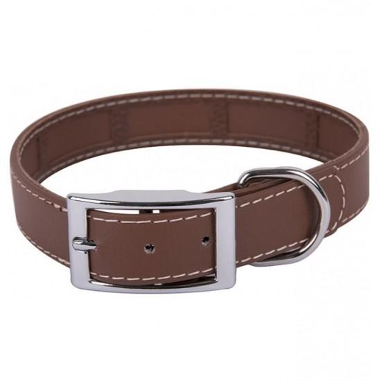 Collar para perro biothane 2,5 hebilla rulo rojo