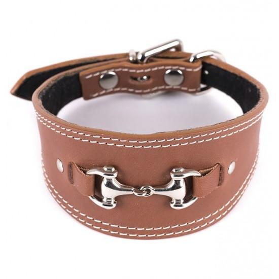 Collar Antiparasitario para perro Piel Vaquetilla Fucsia interior