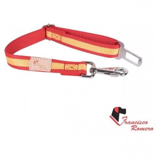Collar para perro de rehala 7,5 cm ancho 3 colores