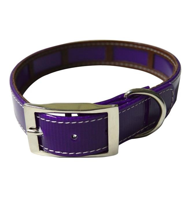 6bc78cff9af6 Collar antiparasitario violeta - Collares para perros