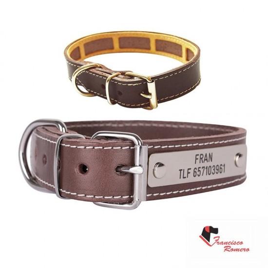 Collar para perro biothane beta rojo 522