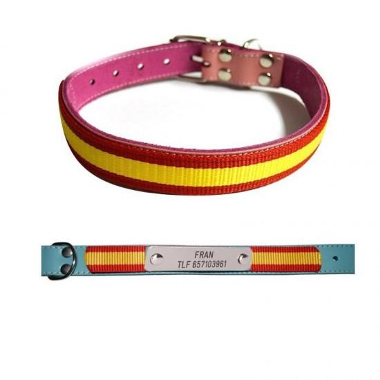 Collar para perro biothane beta violeta 521