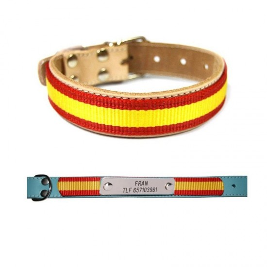 Collar para perro biothane beta marron 522