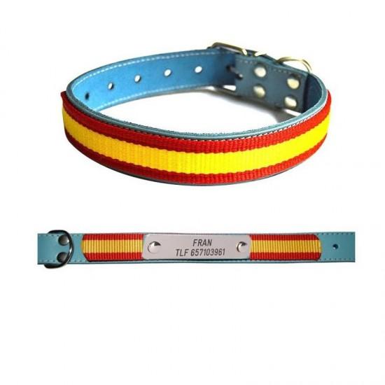 Collar para perro biothane beta marron 522