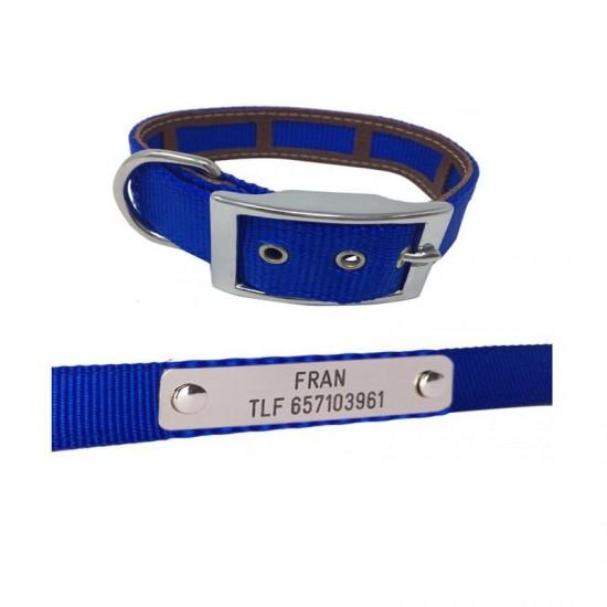 Collares para perros de rehala 5 cm 1 hebilla 1 grabado