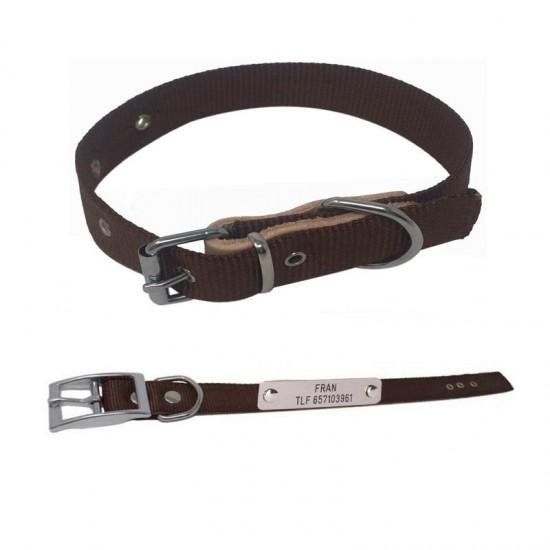 Collares para perros biothane beta 2,5 cm de ancho