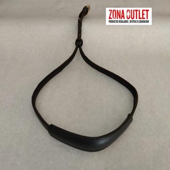 Collar biothane hebilla alemana negro