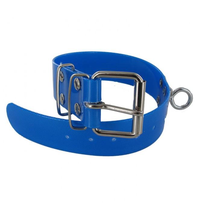 Collar para perro biothane 3,8 quitavueltas azul