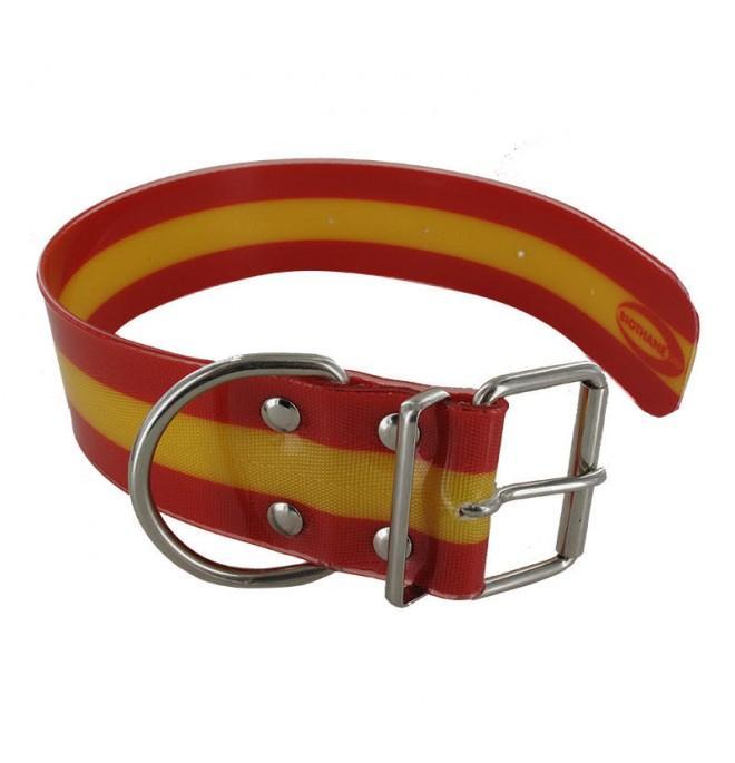 Collar para perro biothane 5 cm hebilla rulo España