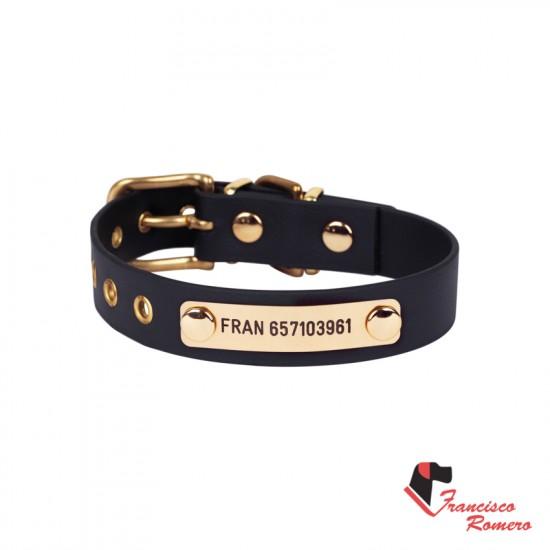 Collar para perro nylon color Rojo