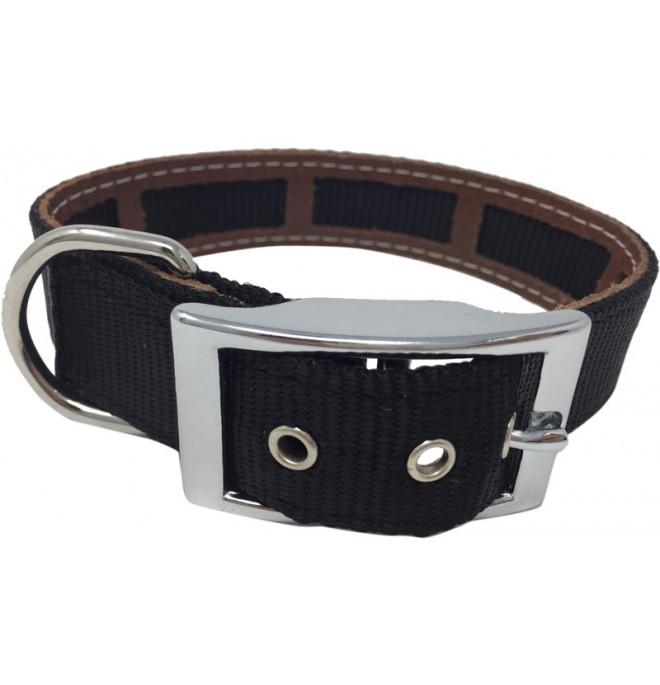 Collar Antiparasitario para perro Nylon Negro
