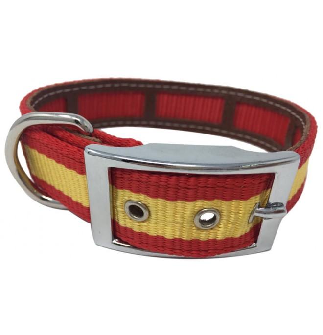 Collar antiparasitario hebilla alemana nylon España