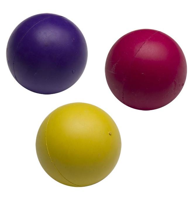 Juguetes para perros pelota goma colores