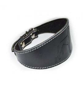 Collar para whippet pequeño color negro