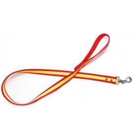 Correa para perro nylon bandera España