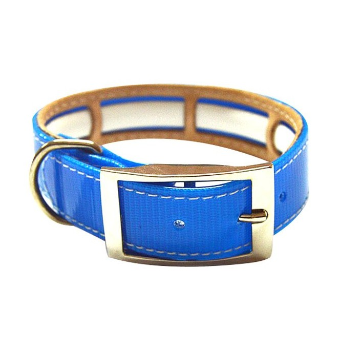 Collar Antiparasitario Biothane Azul
