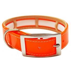 Collar antiparasitario biothane naranja