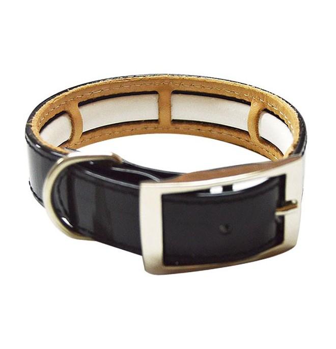 Collar Antiparasitario Biothane Negro