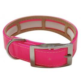 Collar antiparasitario biothane rosa