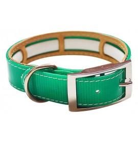 Collar antiparasitario biothane verde