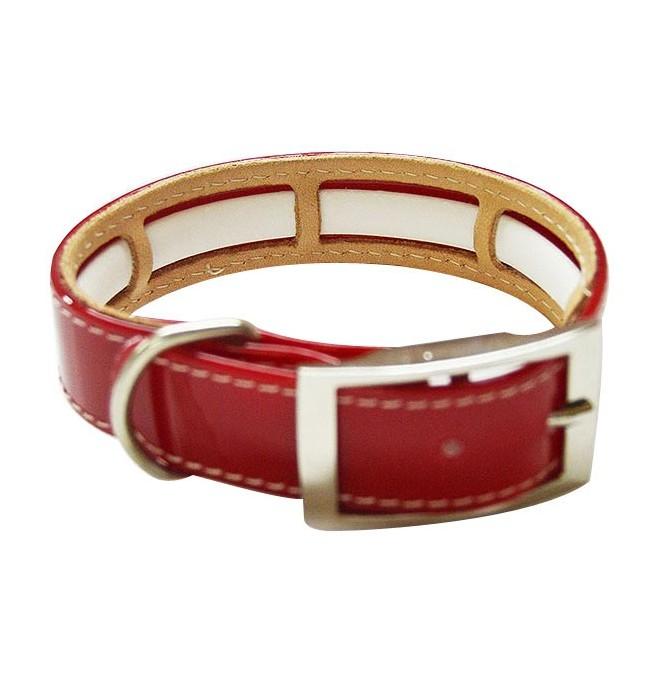 Collar Antiparasitario Biothane Rojo