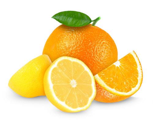 limon y naranja